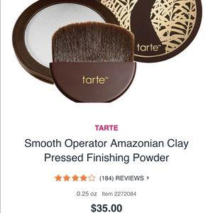 Tarte smooth operator clay finishing powder